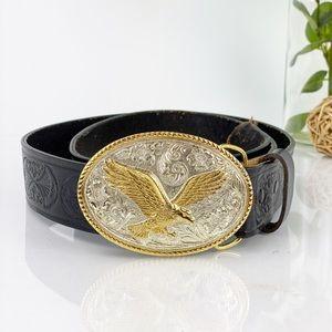 Vintage Aminco Heritage Collection Belt Gold Eagle
